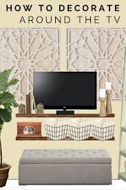 living decoration simple livingroom rukle tv wall decor ideas