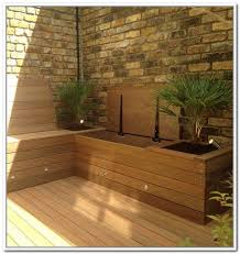 Wood Bench Designs Decks by 52 Best Deck Bench Images On Pinterest Deck Benches Built In