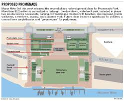 Marina Promenade Floor Plans by Mayor Releases Plan To Add Pizzazz To Promenade Park The Blade