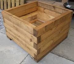 How To Build A Wood End Table by The 25 Best Wooden Planters Ideas On Pinterest Wooden Planter