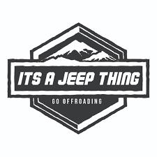 jeep logo sticker jeep sticker it u0027s a jeep thing jeep decal vinyl sticker
