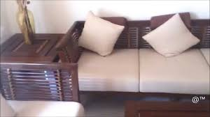 Wooden Sofa Designs Beautiful Rose Wood Sofa Set For Flats Youtube
