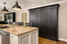 Kitchen With Painted Cabinets Austin Inset Cabinet Door
