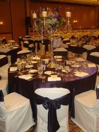 eggplant colored table linens it s all a matter of measurements wedding dinner wedding tables