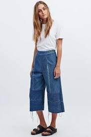 Denim Blue by Best 25 Denim Culottes Ideas On Pinterest Wide Leg Cropped