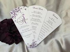 wedding fan program kits add a stylish touch to your wedding ceremony with these diy petal