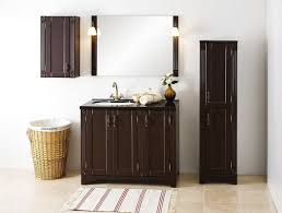 Freestanding Bathroom Furniture Free Standing Washbasin Cabinet Mdf Classic With Mirror