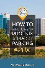 Phoenix Sky Harbor Terminal Map by Phoenix Sky Harbor Airport Parking Guide To Best Phx Long Term Rates