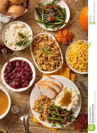 turkey thanksgiving dinner royalty free stock photography