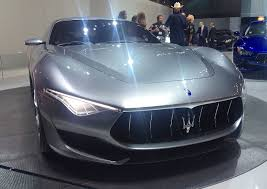 maserati concept cars are audi infiniti and maserati design concepts converging la