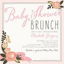 baby shower lunch invitation wording baby shower brunch invitations cloveranddot