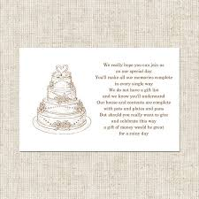 wedding gift poems wedding cake gift poem card wedding stationery