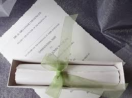 scroll wedding invitations scroll wedding invitations