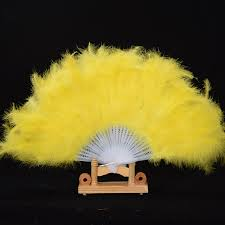 feather fan 1 x high quality feather fan for props goose feather