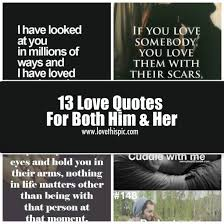 Love Memes For Her - 13 love quotes for both him her