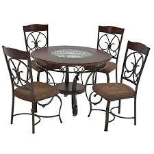 glambrey 5 piece casual dining set el dorado furniture