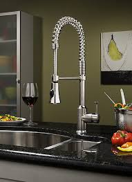 pro kitchen faucet standard pekoe semi professional kitchen faucet in polished