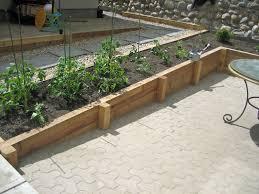 wood retaining wall landscaping u0026 hardscaping cedar wood