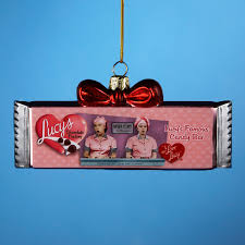 i chocolate bar ornament lucystore