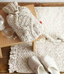 85 best knit home decor images on pinterest chunky knits