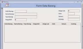 membuat form login dengan ms access 2007 tutorial ms access membuat aplikasi admin sederhana part 4