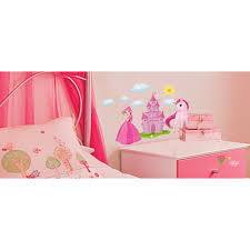 wallwear wall decals princess castle walmart com