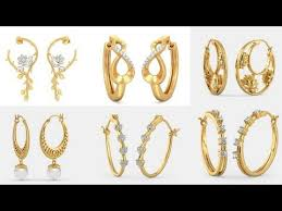 hoops earrings india gold hoop earrings designs hoops earrings online india