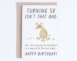 funny 50th birthday card 50 i u0027d be keeping that