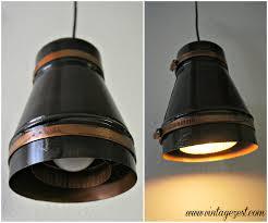 industrial led shop lights diy industrial pendant light with led power on diane s vintage zest