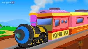 train kingini chellam malayalam animated cartoon rhymes for