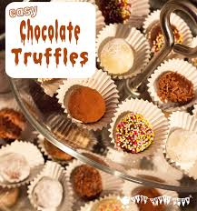 easy chocolate truffles for kids kids craft room
