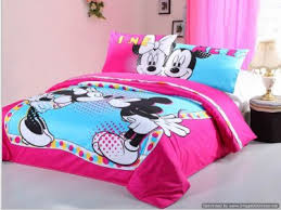 duvet covers comforter sets 4pc cute pink blue mickey minnie mouse