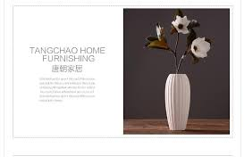 ceramic vase ornaments modern minimalist decor home furnishing