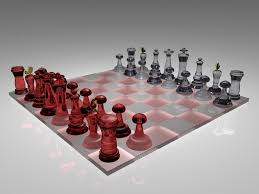 glass chess board by istikimas on deviantart