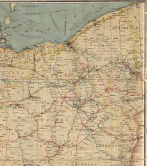 Springfield Ohio Map by 1914 Railroad Map Of Ohio