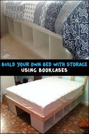 Build Bed Frame With Storage Diy Storage Bed Frame Best 25 Bed Frame With Storage Ideas On