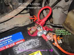 96 Ford Diesel Truck - battery connection schematic wanna install a prioritystart