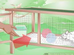 how to build an outdoor rabbit cage 10 steps with pictures