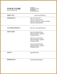 time resume exles 6 time resume exles financial statement form