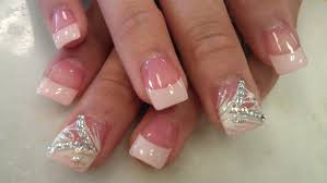 how to pretty blush pink nails part 2 youtube
