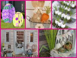 outdoor decoration ideas diy outdoor easter decorations 30 decor ideas