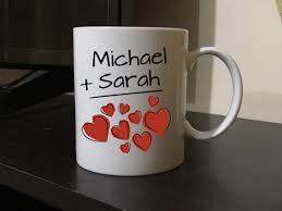 wedding gift husband personalized couples wedding anniversary gift mug i my