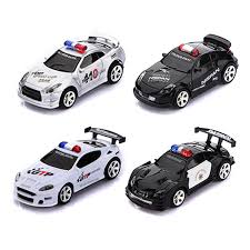 remote control police car with lights and siren mini rc remote radio control racing police car siren led light