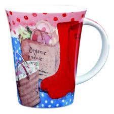 His And Her Mug Alex Clark Mug Set His And Her Wellies