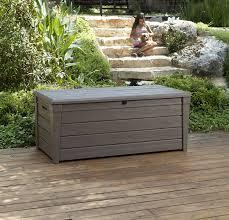 Suncast 50 Gallon Patio Bench by Deck Storage Bench Radnor Decoration