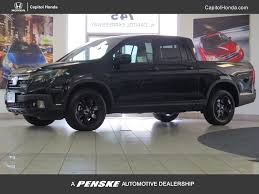2017 new honda ridgeline black edition 4x4 crew cab at capitol