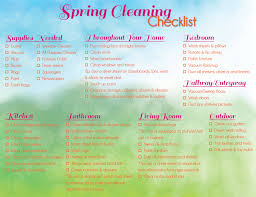 spring cleaning tips cleaning checklist for spring 2015 minteer real estate team