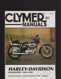 harley davidson sportster 1959 1985 maintenance troubleshooting