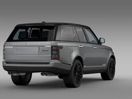 range rover white 2016 range rover svautobiography l405 2016 by creator 3d 3docean