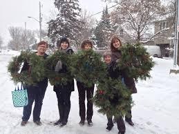 2014 champlain park garden club wreath making workshop champlain